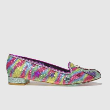 Irregular Choice Multi Loosen The Reins Womens Flats