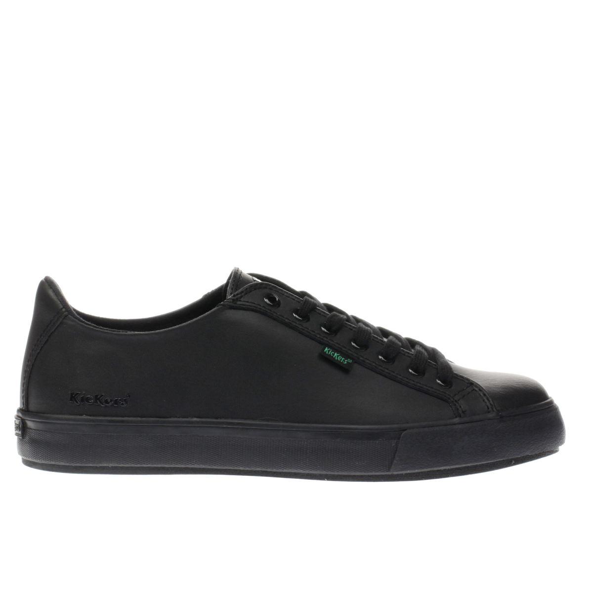 Vblack Flat Brogue Shoes