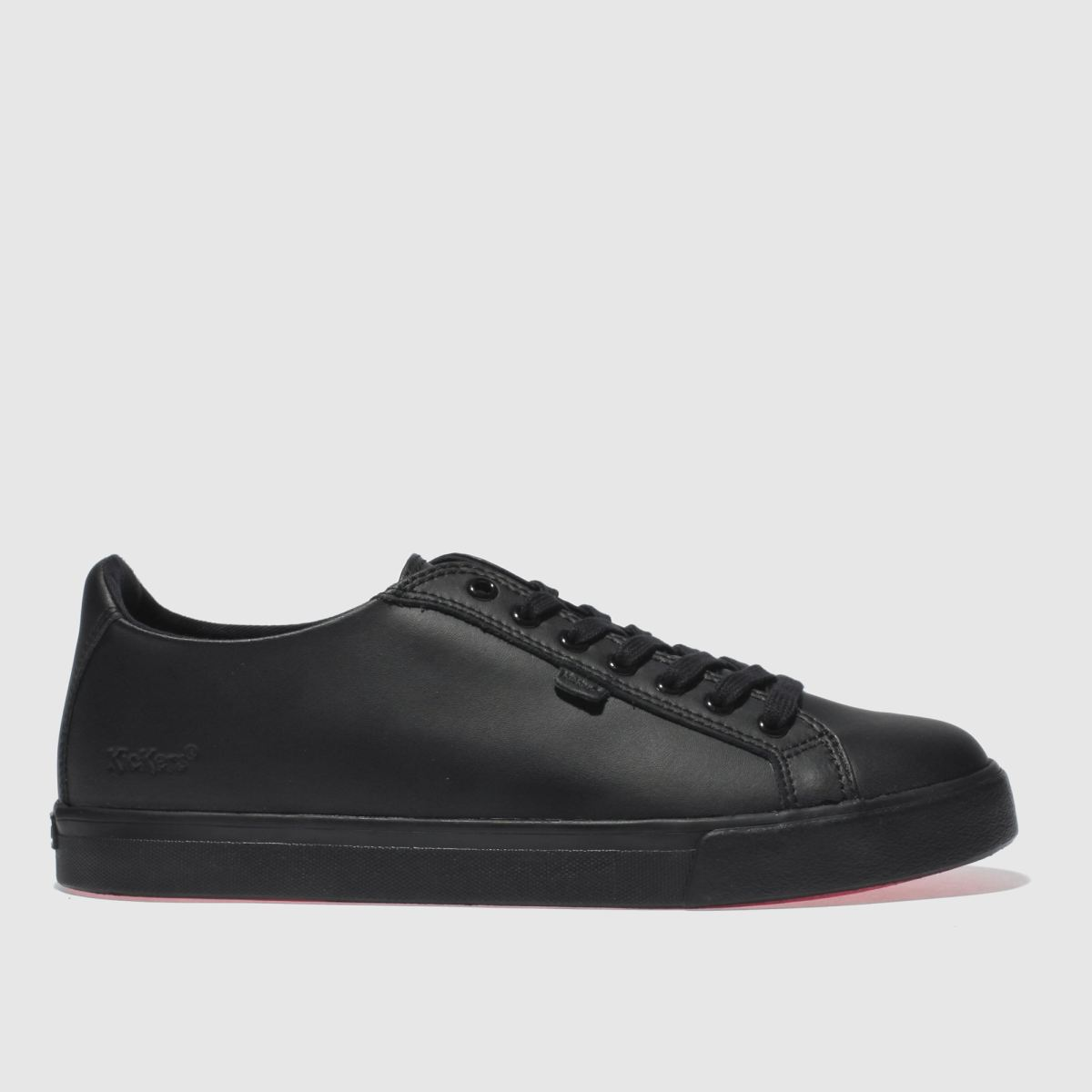 Kickers Black Tovni Lacer Flat Shoes