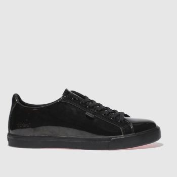 Kickers Black Tovni Lacer Womens Flats