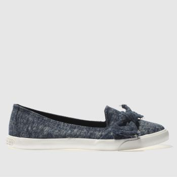 ROCKET DOG BLUE CLARITA FLAT SHOES