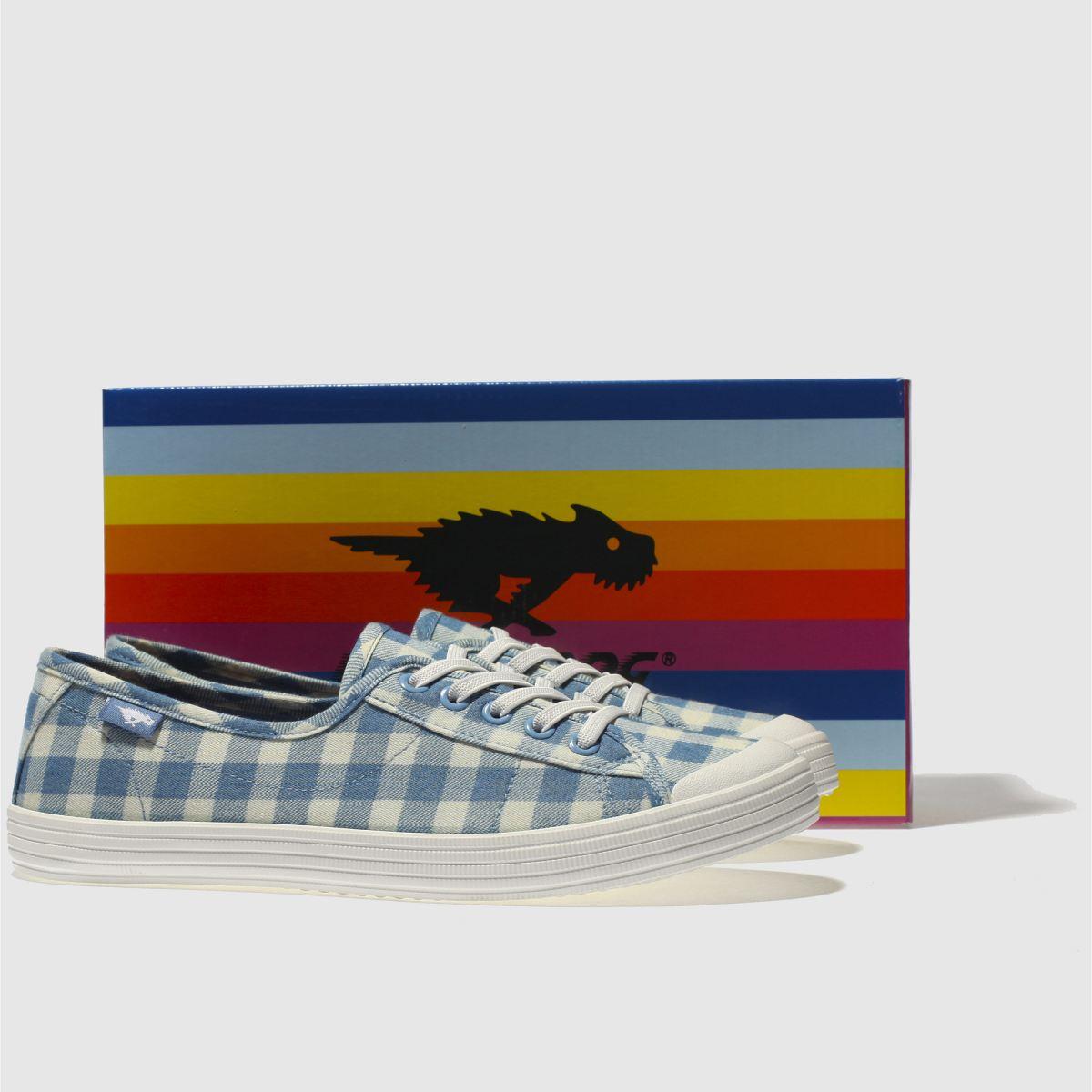 Damen Weiß-hellblau rocket dog Chow Gute Chow Sneaker | schuh Gute Chow Qualität beliebte Schuhe 1c9ddb