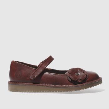 RED OR DEAD BURGUNDY JULES FLAT SHOES