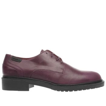 RED OR DEAD BURGUNDY SHERMAN FLAT SHOES
