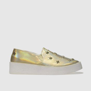 Red Or Dead Gold Starly Womens Flats