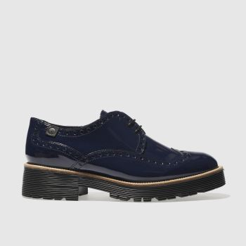 RED OR DEAD NAVY MISS SHREWSBURY FLAT SHOES