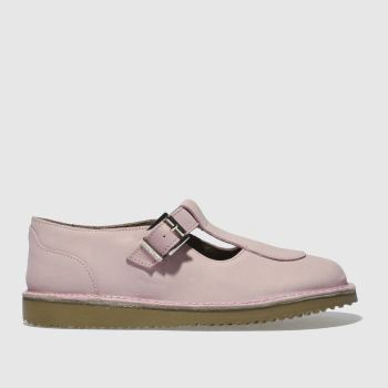 Red Or Dead Pale Pink Miss Jones Womens Flats