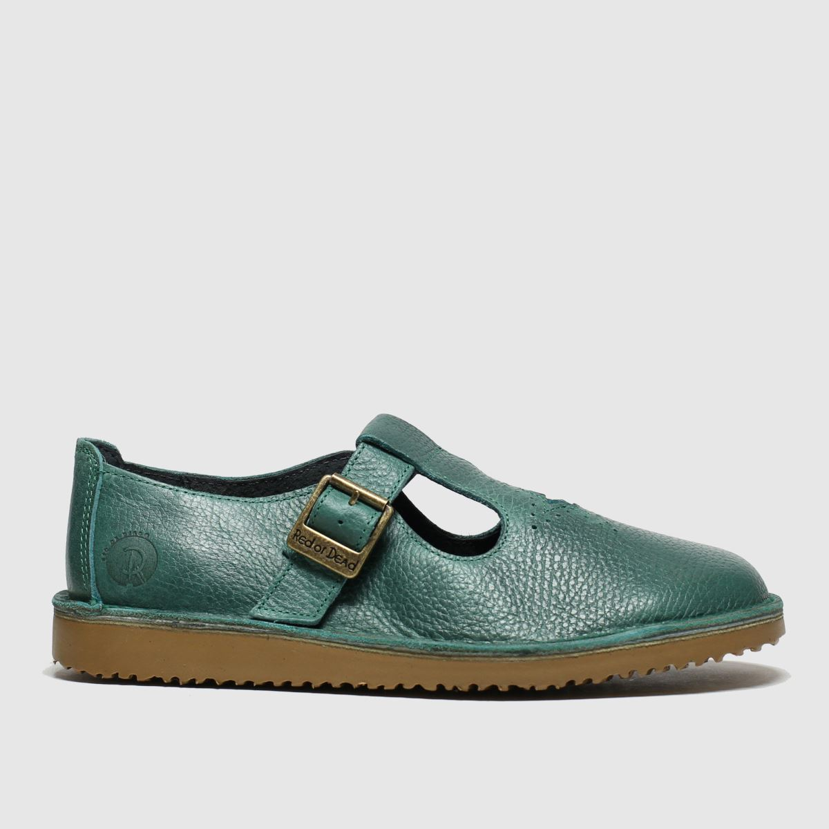 Red Or Dead Turquoise Ziggy Flat Shoes