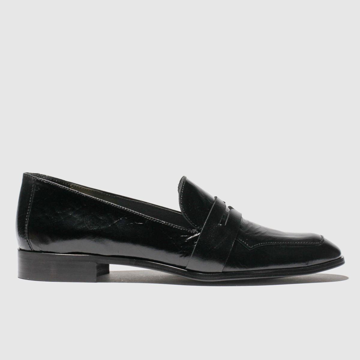 Red Or Dead Black Billie Flat Shoes
