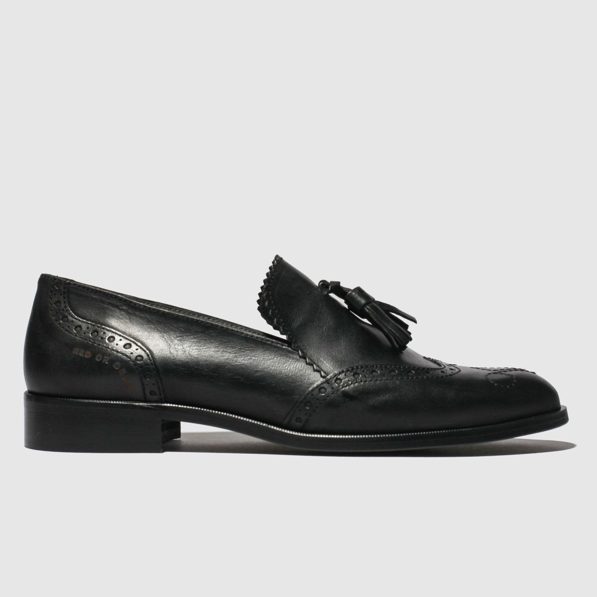 Red Or Dead Black Lyle Flat Shoes