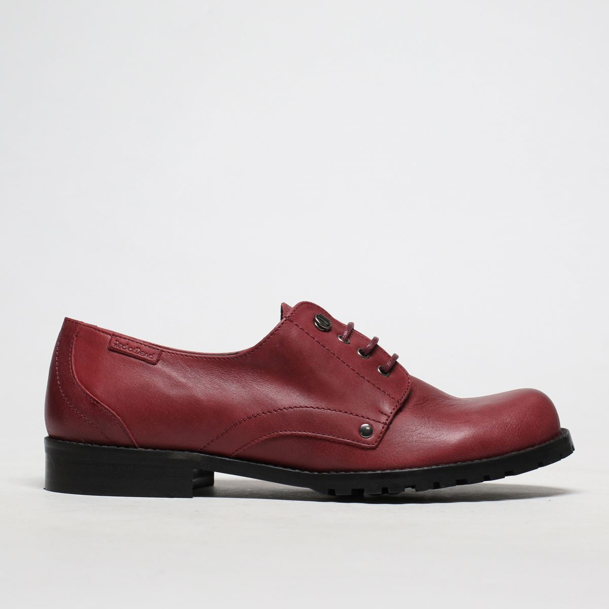 Red Or Dead Burgundy Rosita Flat Shoes