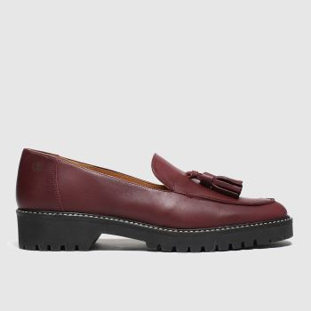 Red Or Dead Burgundy Polly Womens Flats