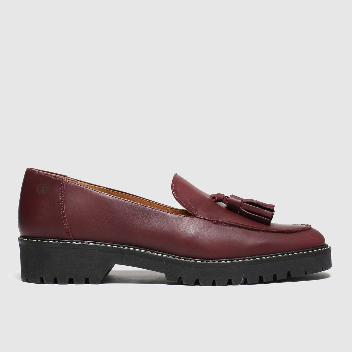 Red Or Dead Burgundy Polly Flat Shoes
