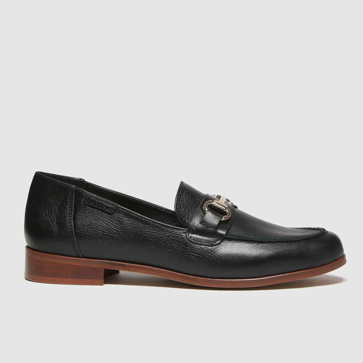 Red Or Dead Red Or Dead Black River Leather Smart Loafer Flat Shoes