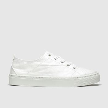 schuh white redeem flat shoes