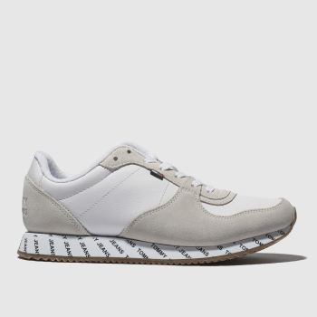 Tommy Hilfiger White TJ BRANDED RUNNER Trainers