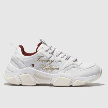 Tommy Hilfiger White Billy Cny 2A Womens Trainers