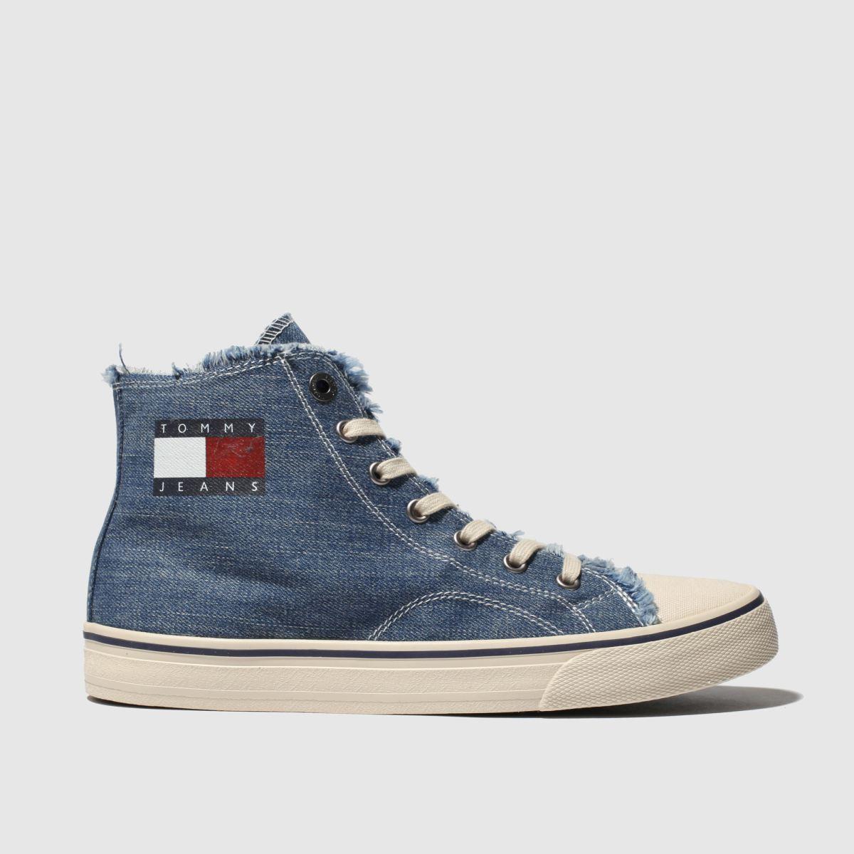 Tommy Hilfiger Blue Tj Hightop Flat Shoes