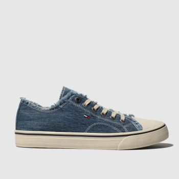 Tommy Hilfiger Blue Tj Lowcut Womens Trainers