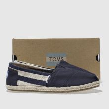 Toms university classic stripe 1