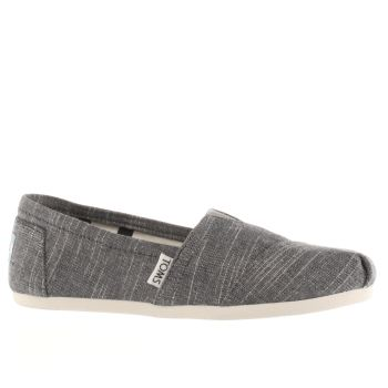 Toms Navy Seasonal Classic Womens Flats