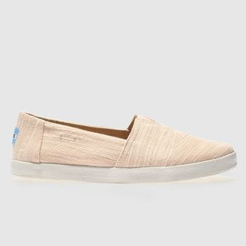Toms Pink Avalon Womens Flats