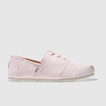 Toms Pink Hermosa Womens Flats