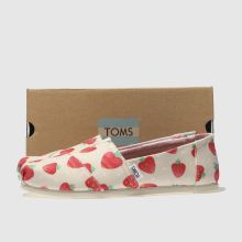 Toms alpargata strawberry 1