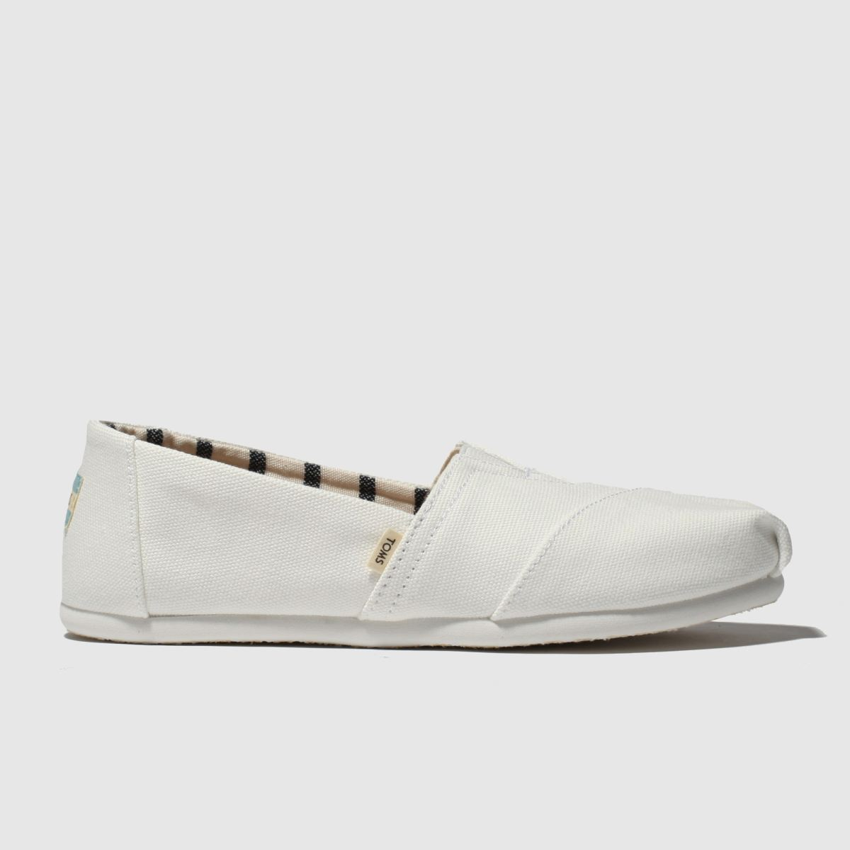 Toms White Alpargata Venice Flat Shoes