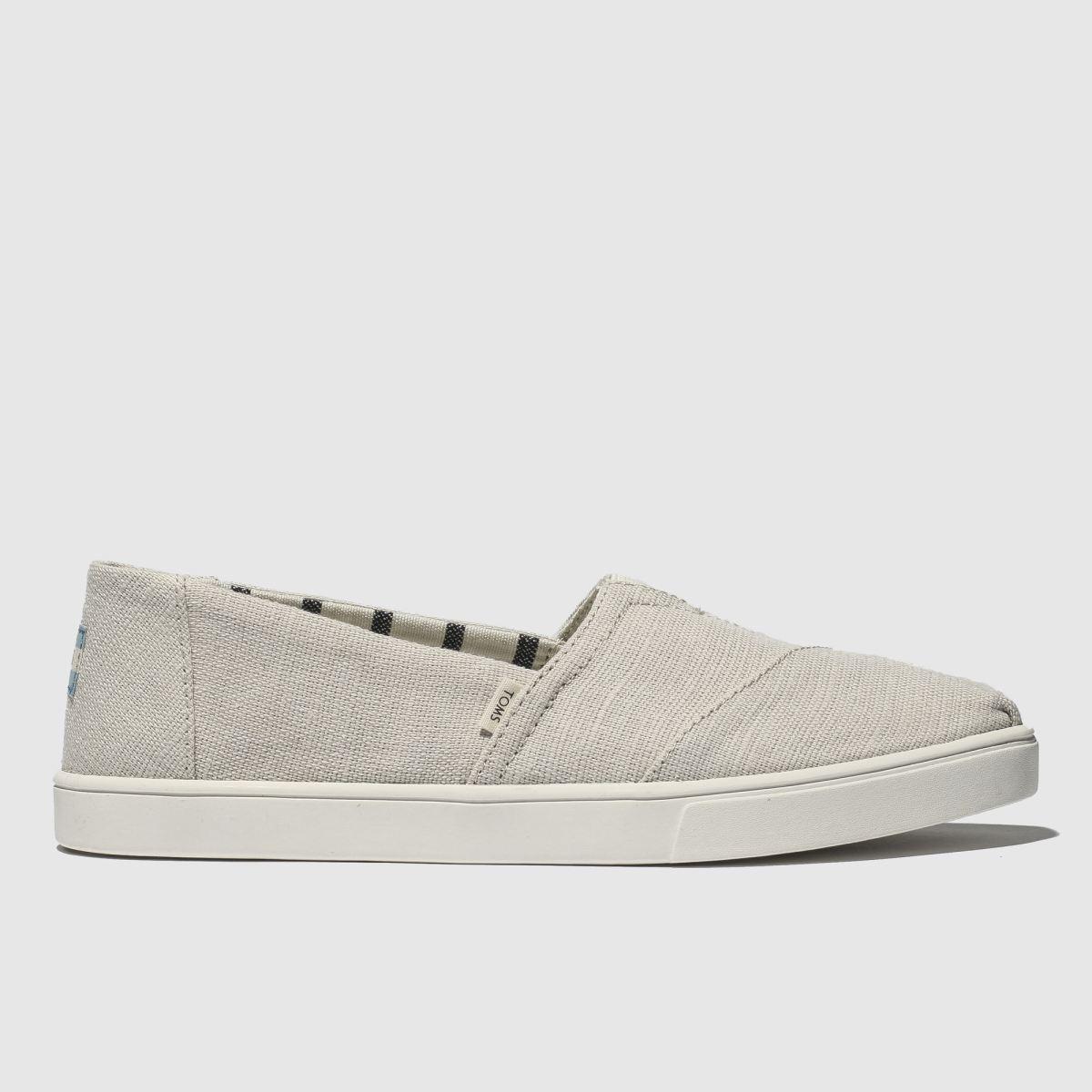 Toms Stone Alpargata Cupsole Flat Shoes