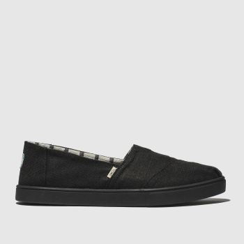 Toms Black Alpargata Cupsole c2namevalue::Womens Flats