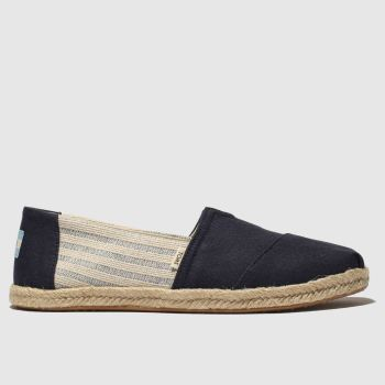 Toms Navy Alpargata c2namevalue::Womens Flats