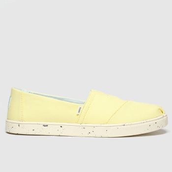 Toms Yellow Alpargata Cupsole c2namevalue::Womens Flats