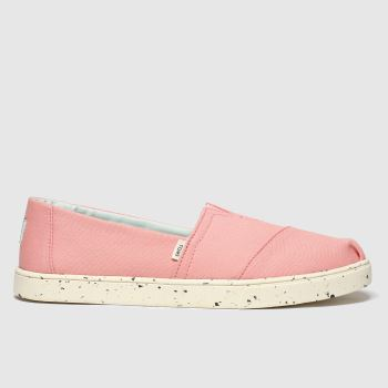 Toms Pink Alpargata Cupsole c2namevalue::Womens Flats