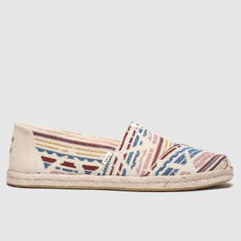 Toms Multi Alpargata Woven Rope Sole c2namevalue::Womens Flats