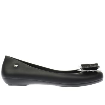 Zaxy Black Butterfly Luxe Womens Flats