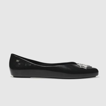 Zaxy Black Chic Womens Flats