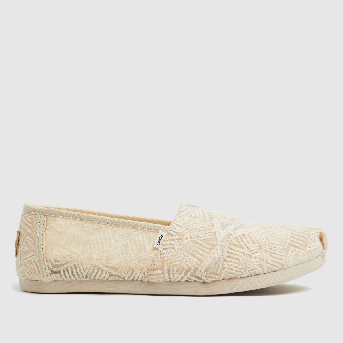 TOMS Natural Alpargata 3.0 Vegan Flat Shoes