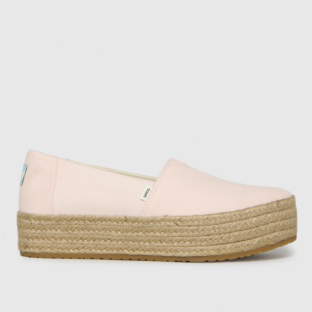TOMS Beige Valencia Vegan Flat Shoes