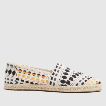 TOMS Multi Alpargata Rope Vegan Womens Sandals