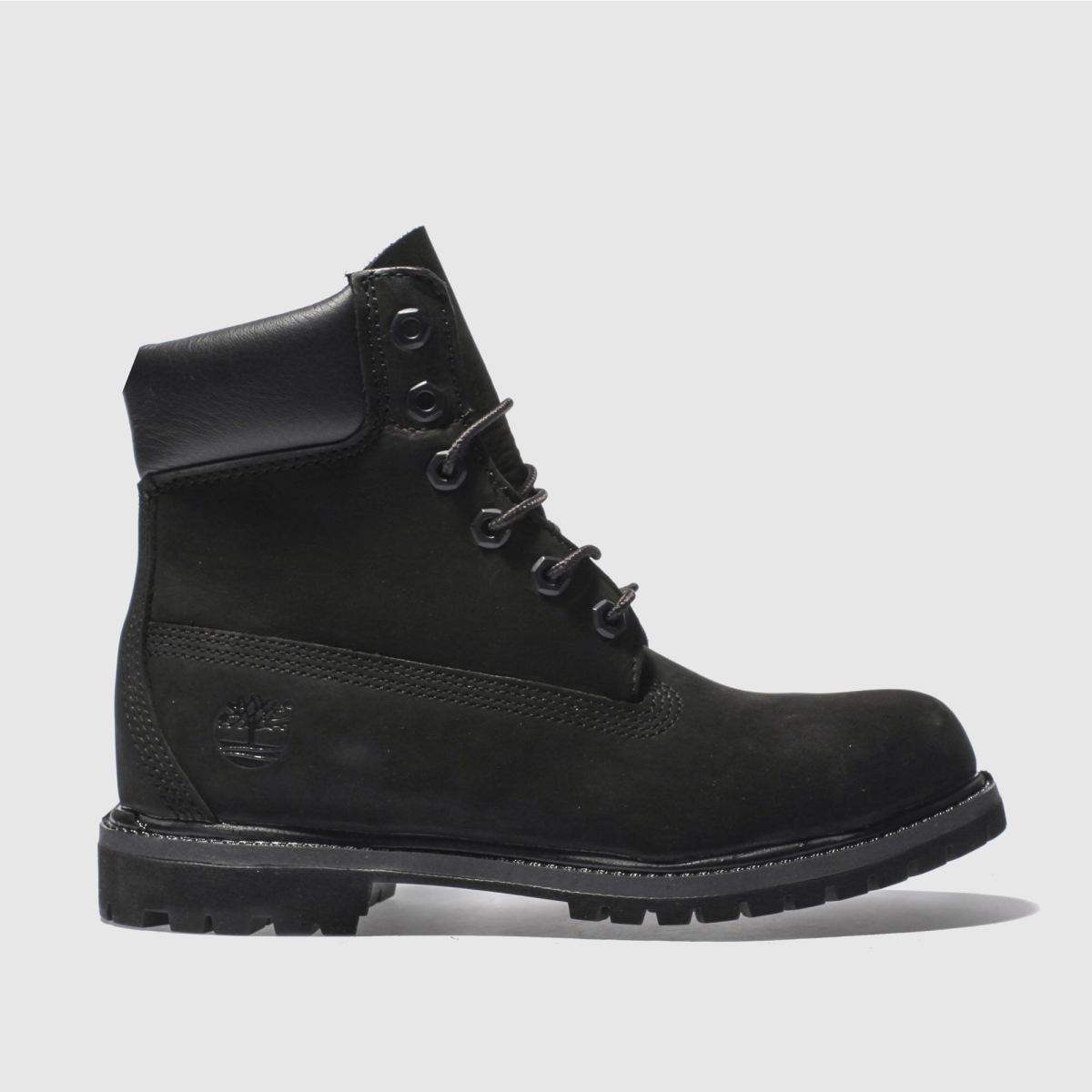 womens black timberland 6 inch premium boots | schuh