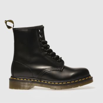 Dr Martens Black 1460 8 Eye Womens Boots#