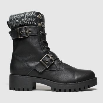 Schuh Black Ranger Boots