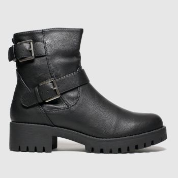 Schuh Black Buzz Womens Boots