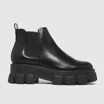 schuh Black Anna Extreme Cleat Sole Womens Boots