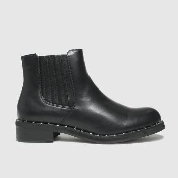 schuh Black Cliantha Stud Rand Chelsea Womens Boots