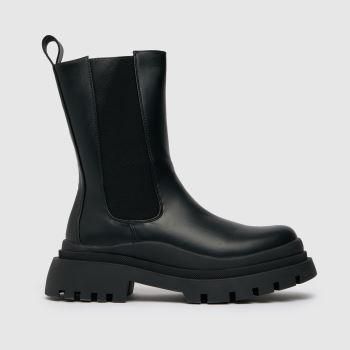 schuh Black Anastasia High Cut Chelsea Boots