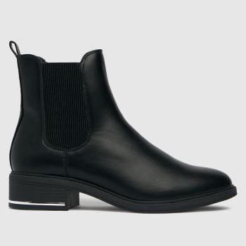 schuh Black Colette Hardware Chelsea Boots