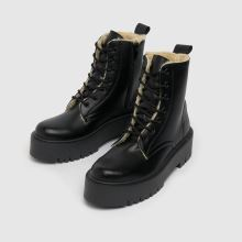 schuh Aoife Shearling Lined Lace Up,3 of 4