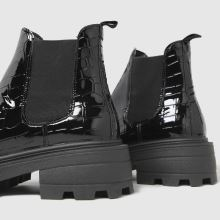 schuh Cassidy Croc Chunky Square Toe,3 of 4